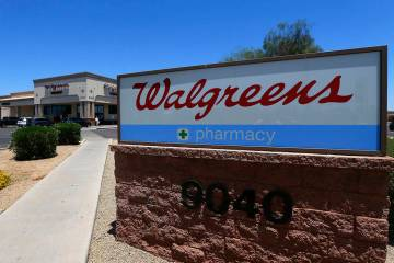 Walgreens said Tuesday, April 23, 2019, that it has decided to raise its minimum age for tobacc ...
