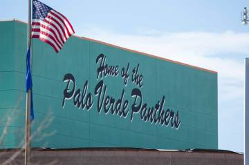 Palo Verde High School in Las Vegas on Thursday, March 1, 2018. (Review-Journal file photo)