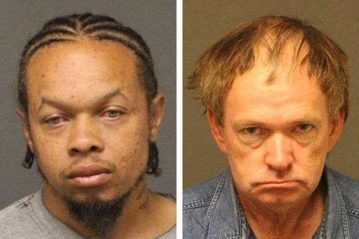 Durrel Keith Shaw, left, and Kevin Harry Moninger (Mohave County [Ariz.] Sheriff's Office)