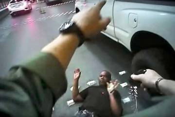 Metropolitan Police Department body-camera footage shows Tashii Brown being stunned with a tase ...