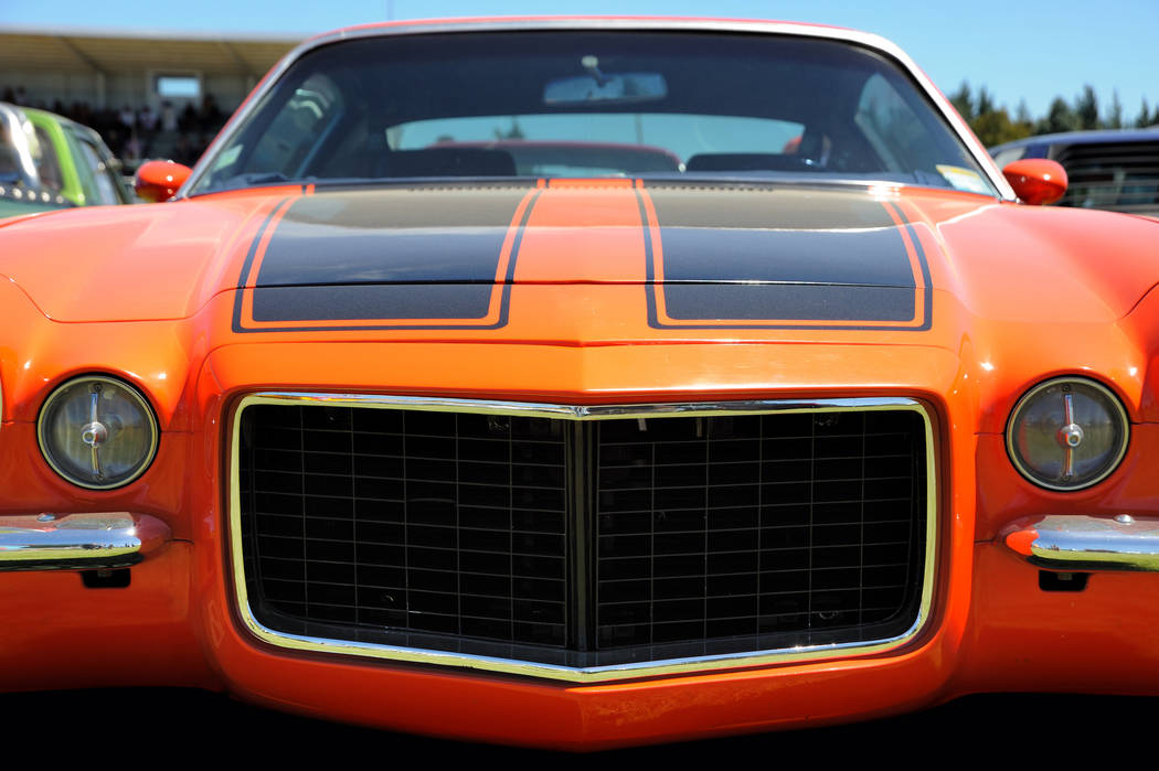 MuscleCars at The Strip returns to the Las Vegas Motor Speedway this weekend, April 26-28. (Getty)