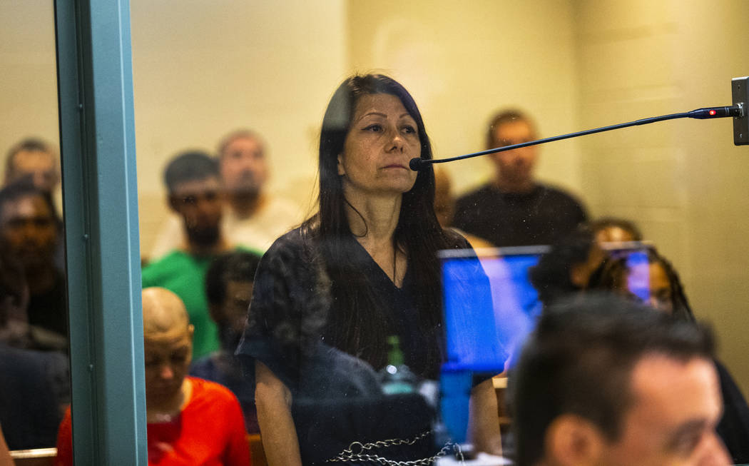 Former Metro officer Pamela Bordeaux, charged with murder, has her initial appearance before Ju ...