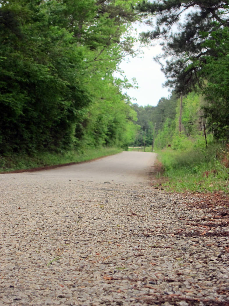 This April 12, 2019, photo shows a section of Huff Creek Road in Jasper, Texas, where James Byr ...