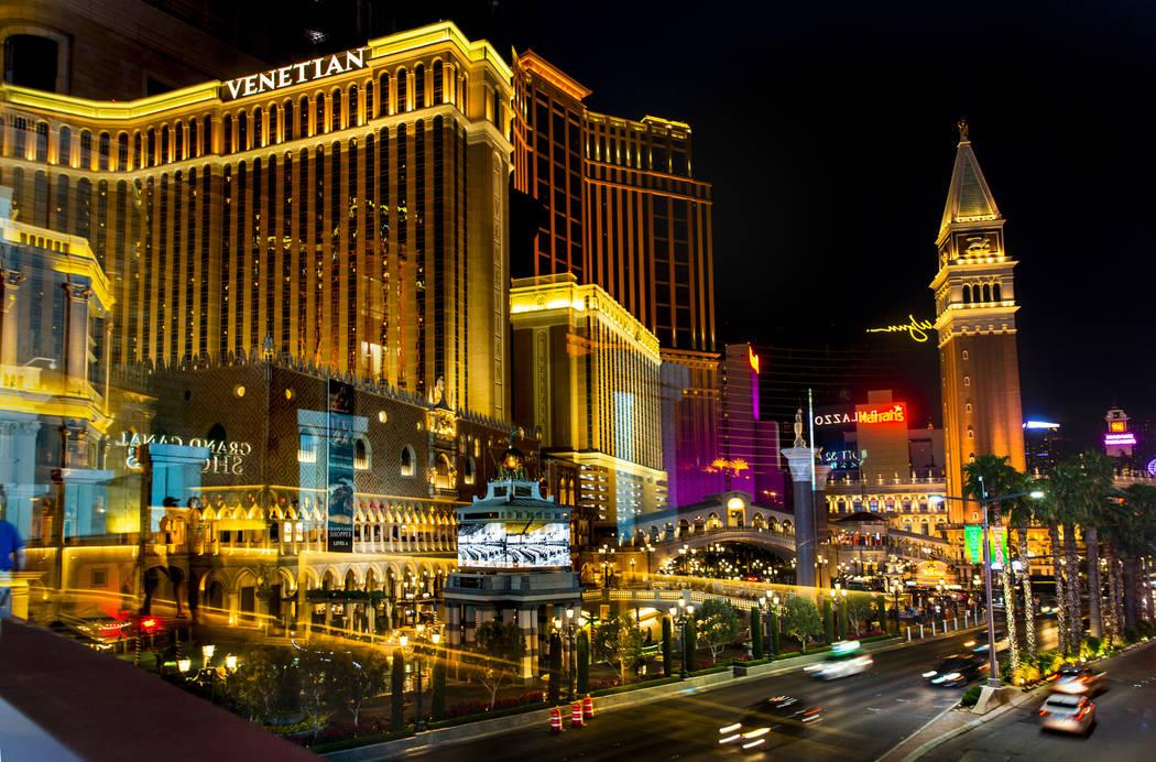 The Venetian is seen, Wednesday, April 24, 2019, in Las Vegas. (L.E. Baskow/Las Vegas Review-J ...