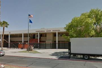 Chaparral High School (Google Street View)