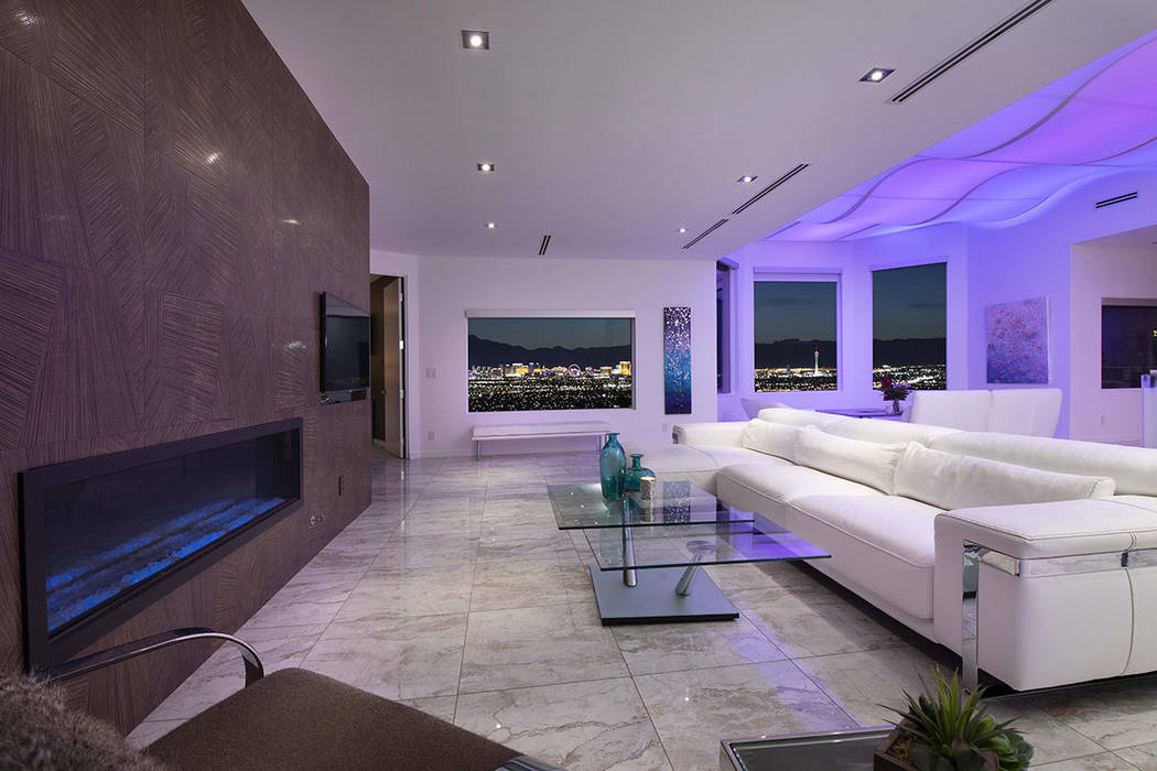 Living area. (Sotherby's International Realty, Synergy)