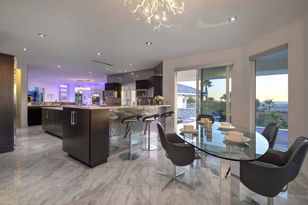 The kitchen and dining area. (Sotherby's International Realty, Synergy)