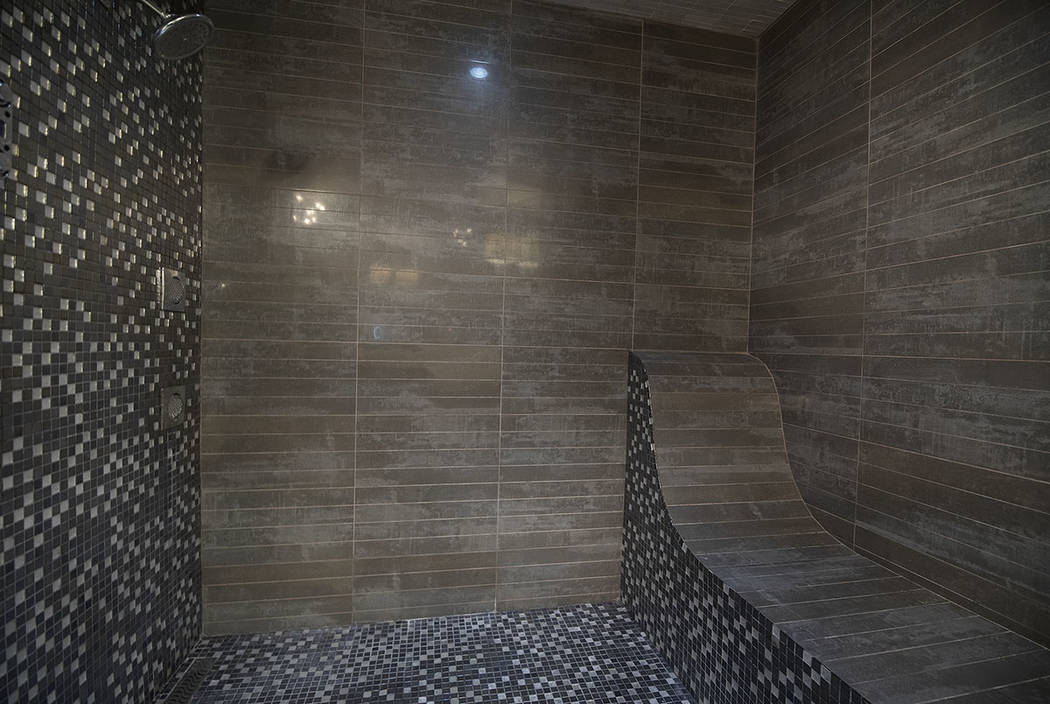 The master shower. (Sotherby's International Realty, Synergy)
