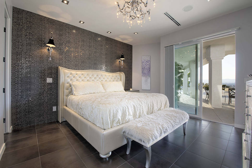 One of five bedrooms. (Sotherby's International Realty, Synergy)