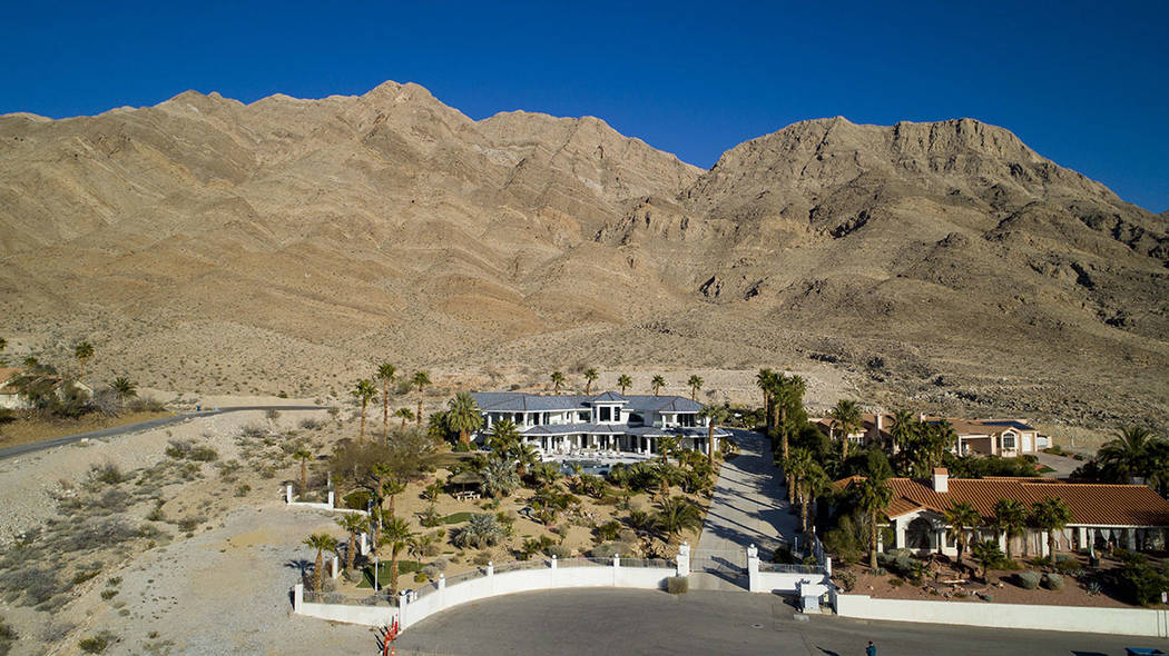 The home is a the base of Sunrise Mountain. (Sotherby's International Realty, Synergy)