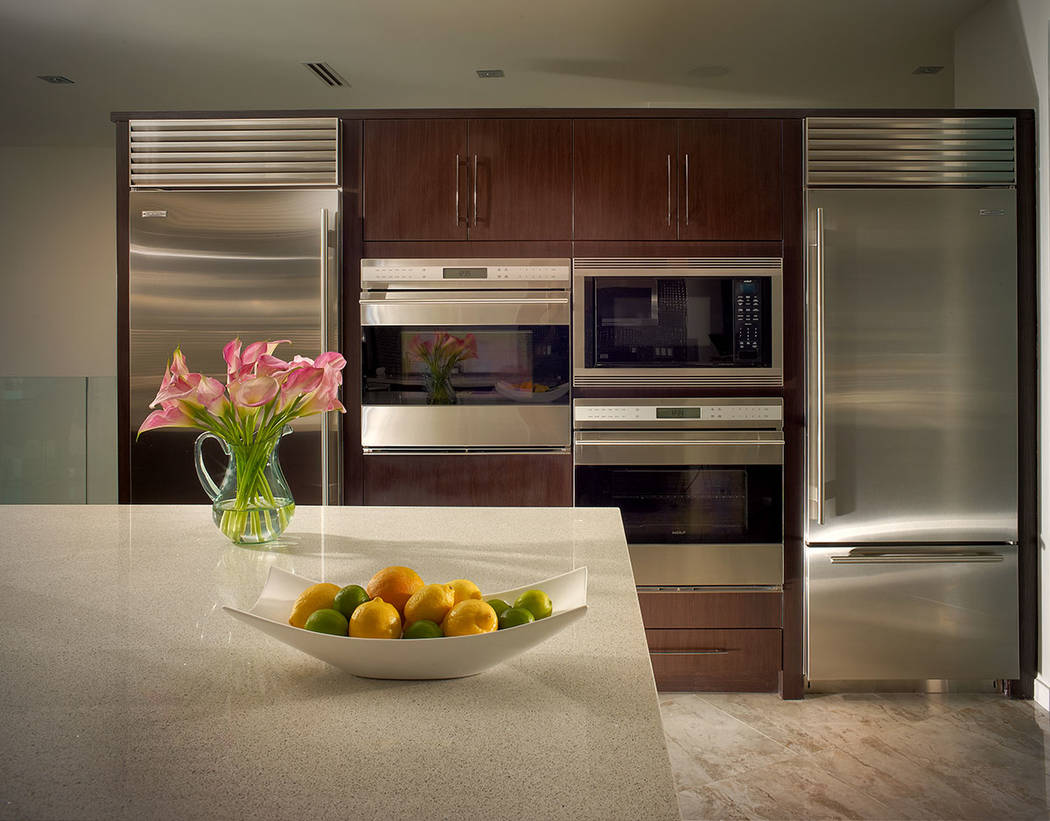 The kitchen has the latest appliances. (Sotherby's International Realty, Synergy)
