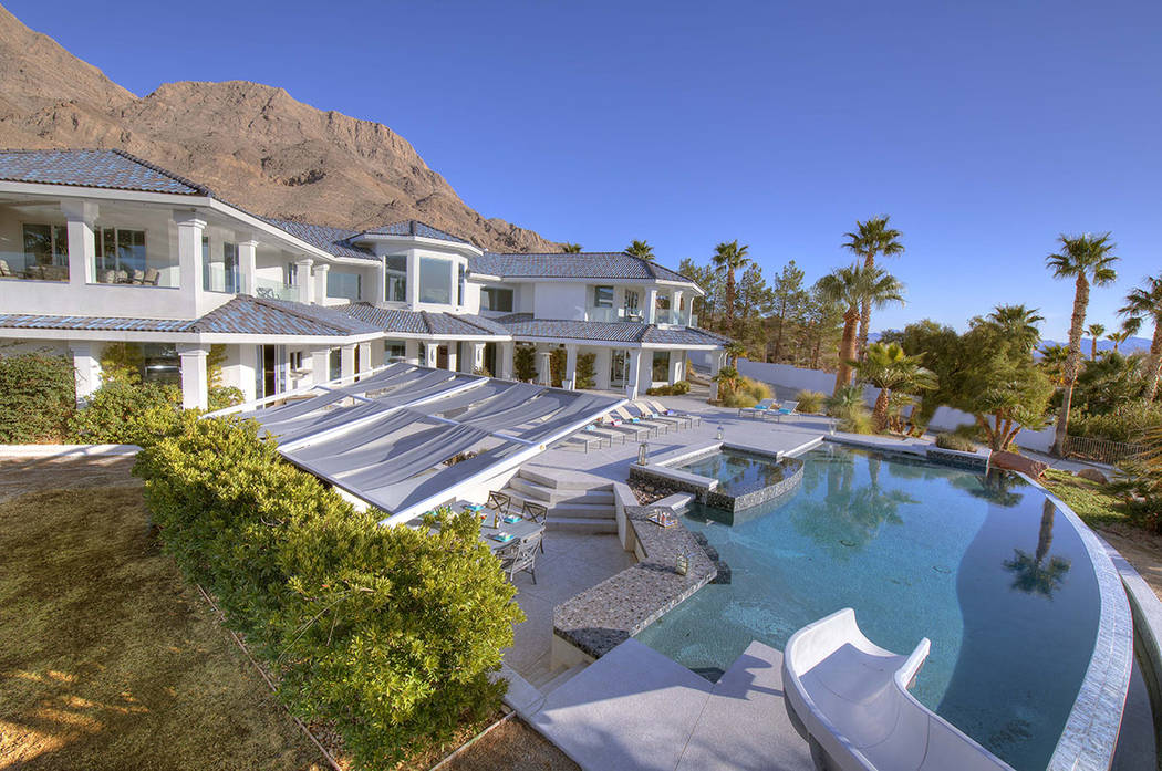 This $4.5-million estate atop Sunrise Mountain will be at auction this weekend, April 26-29. (S ...