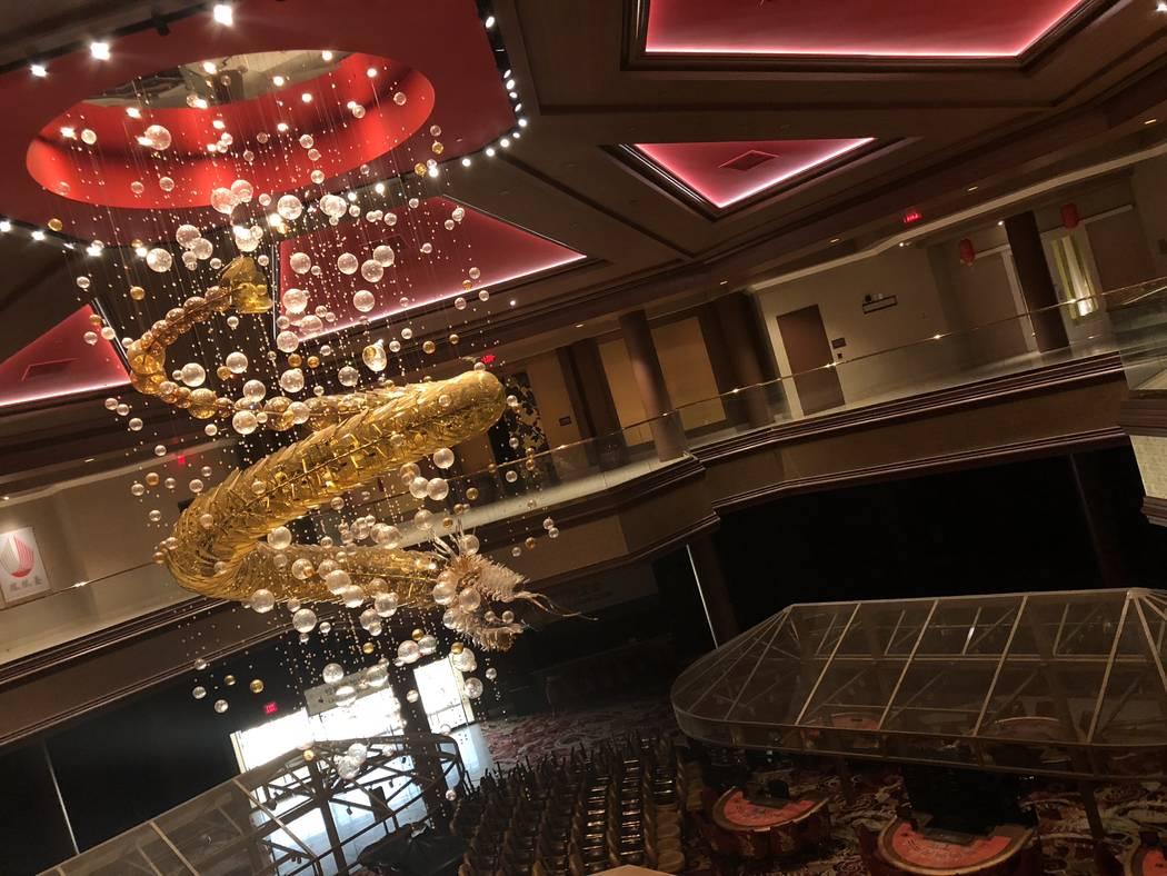 The Lucky Dragon on September 11, 2018, in Las Vegas. (Mat Luschek/Las Vegas Review-Journal)