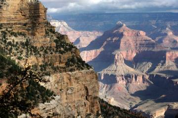A view from the South Rim of the Grand Canyon National Park in October 2012. (AP Photo/Rick Bowmer)