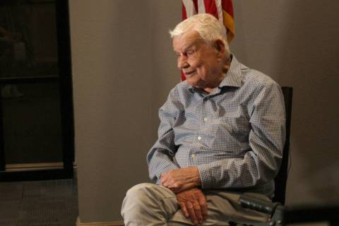 """Col. Clarence """"Bud"""" Anderson, 97, a triple ace fighter pilot who flew during World War II and t ..."""