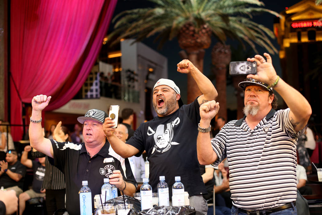 Jason Kosgelecky, from left, of Southern California, Rosendo Sanchez, of the Bay Area, and Char ...