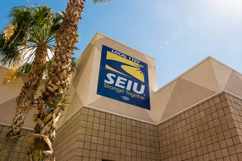 The SEIU office in Las Vegas (Las Vegas Review-Journal)