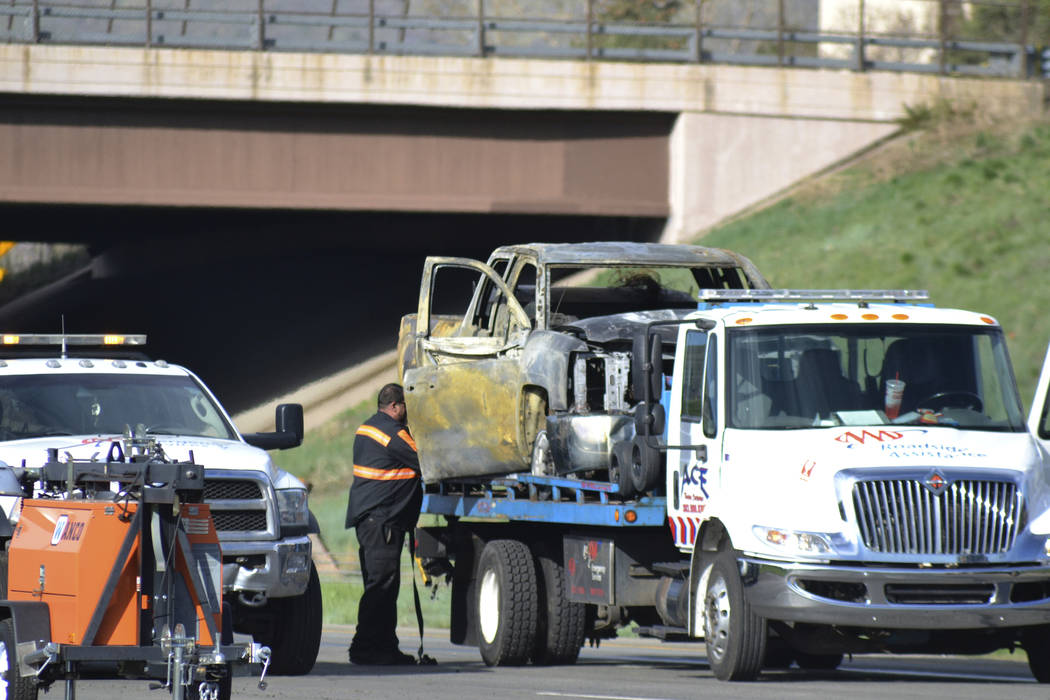 Truck driver arrested in multiple fatality pileup near