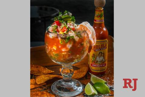 Tacho Kneeland, executive chef of Cabo Wabo Cantina in the Miracle Mile Shops, has created a fi ...