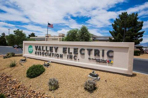 Valley Electric Association Inc. headquarters in Pahrump (Las Vegas Review-Journal)