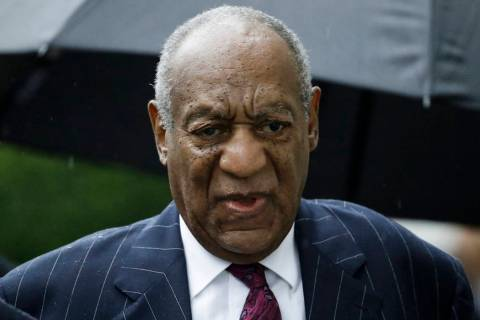 Bill Cosby arrives for his sentencing hearing Sept. 25, 2018, at the Montgomery County Courthou ...