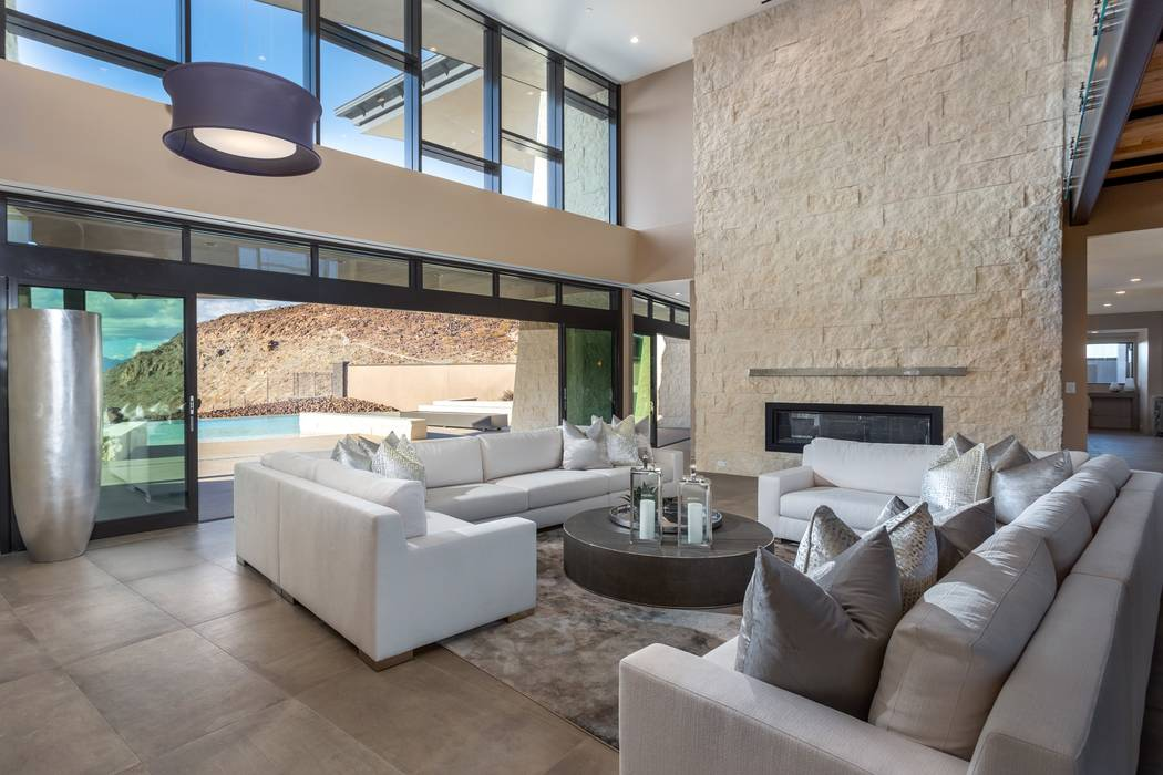 Ascaya The luxury home community, Ascaya in Henderson, is building Inspirational Homes. This on ...