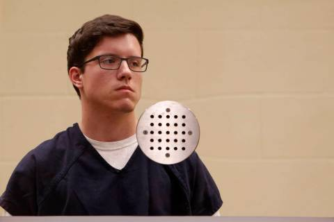 John T. Earnest appears for his arraignment hearing Tuesday, April 30, 2019, in San Diego. Earn ...