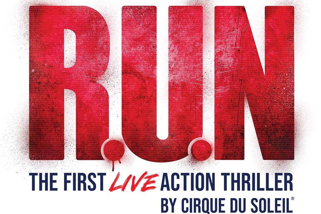 "A promotional image for the new Cirque du Soleil show ""R.U.N."" The production opens Oct. 24 at ..."