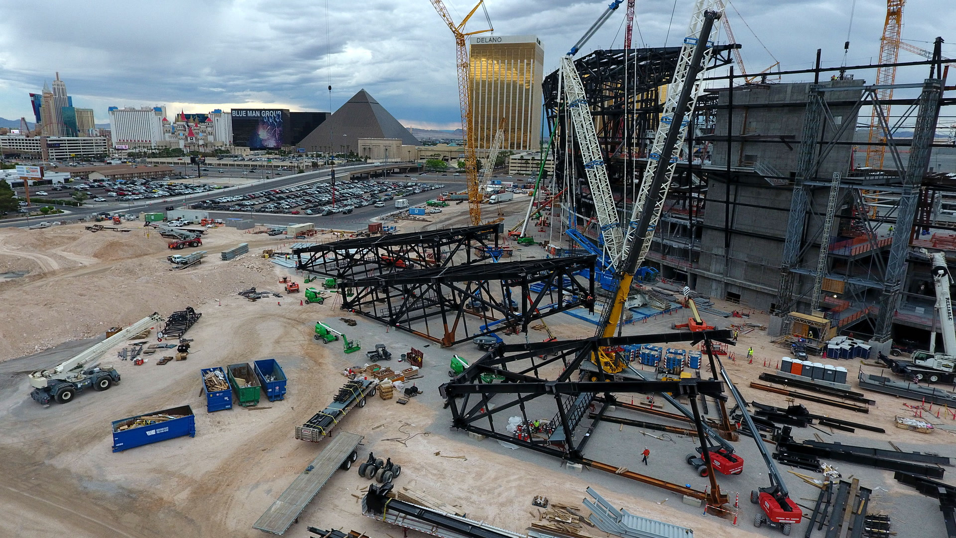 Las Vegas Raiders Stadium Enters Difficult Dangerous