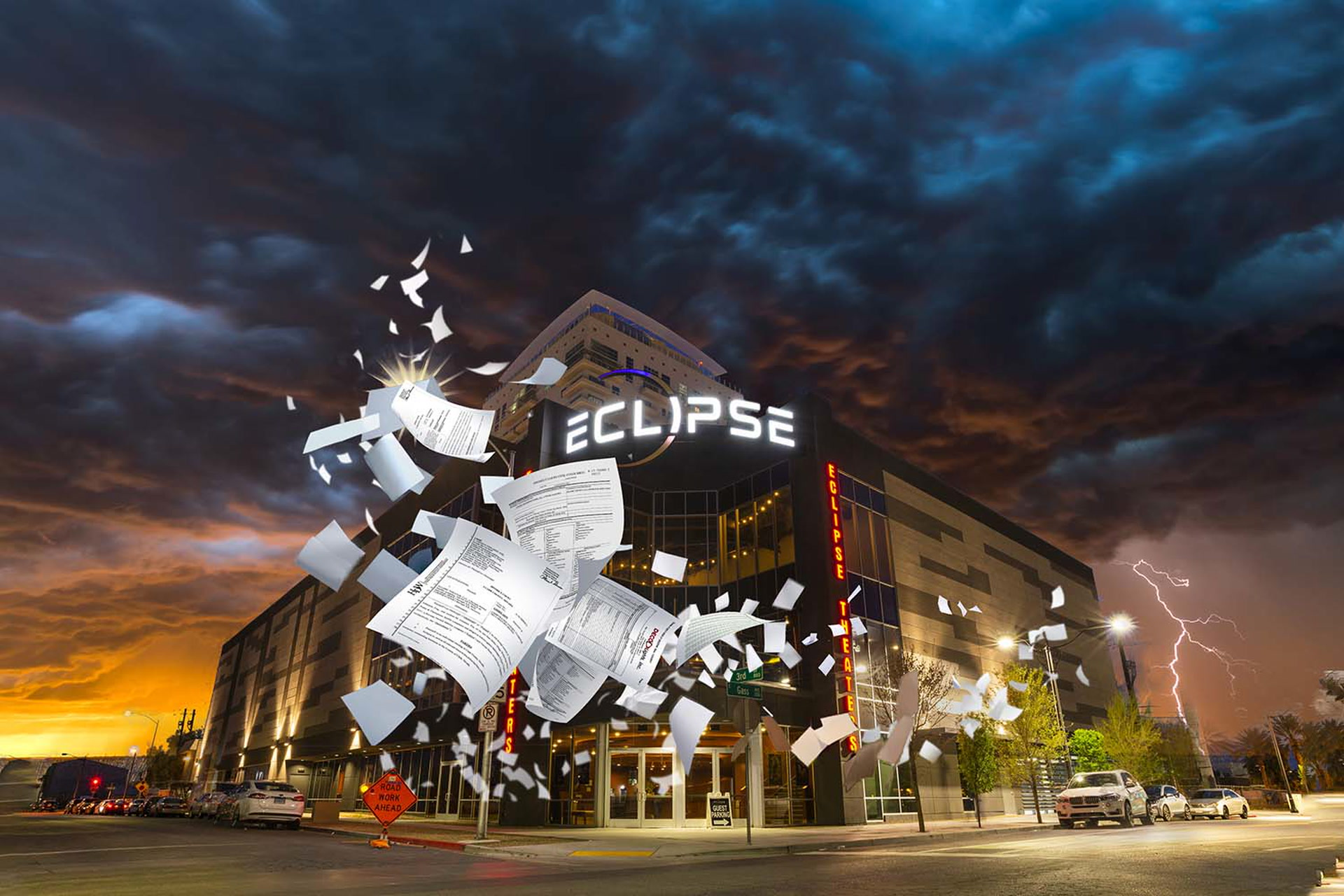 Eclipse Las Vegas >> Eclipse Theaters In Downtown Las Vegas Facing Foreclosure
