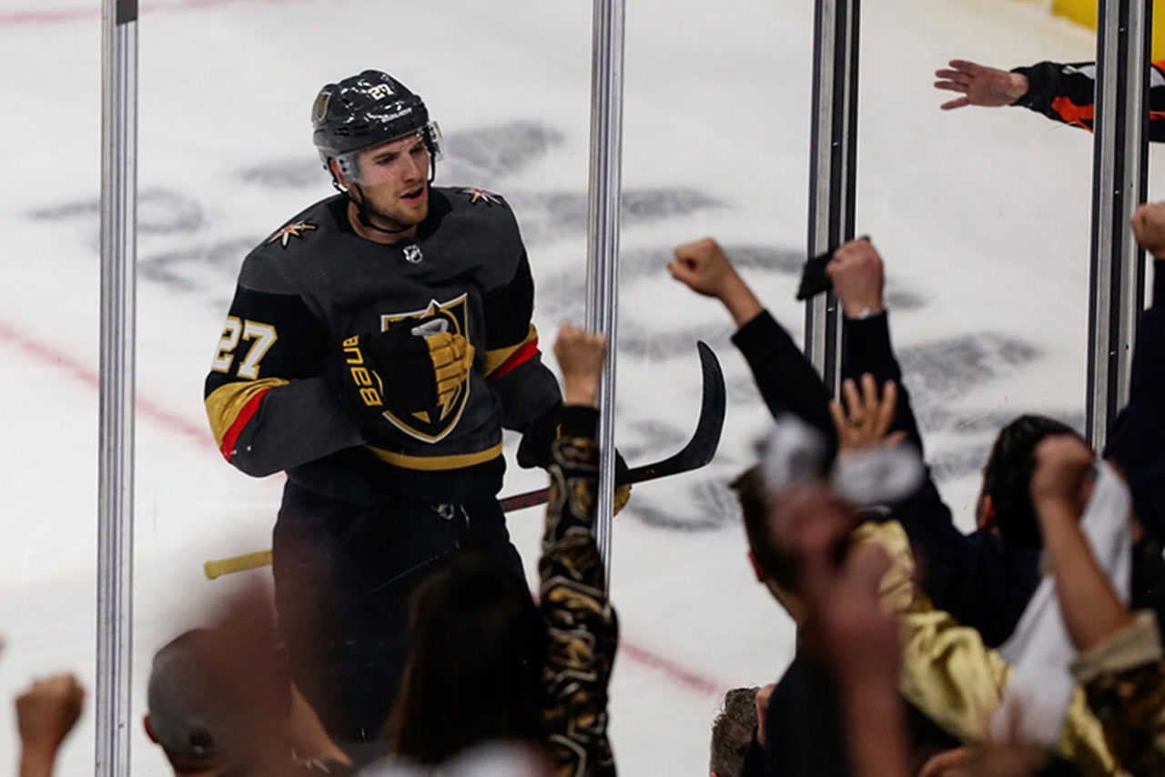 Golden Knights' Shea Theodore outplaying Sharks' top defenders — VIDEO