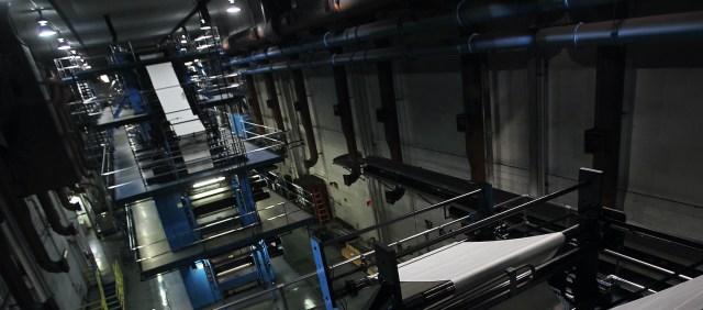 Las Vegas Review-Journal printing press