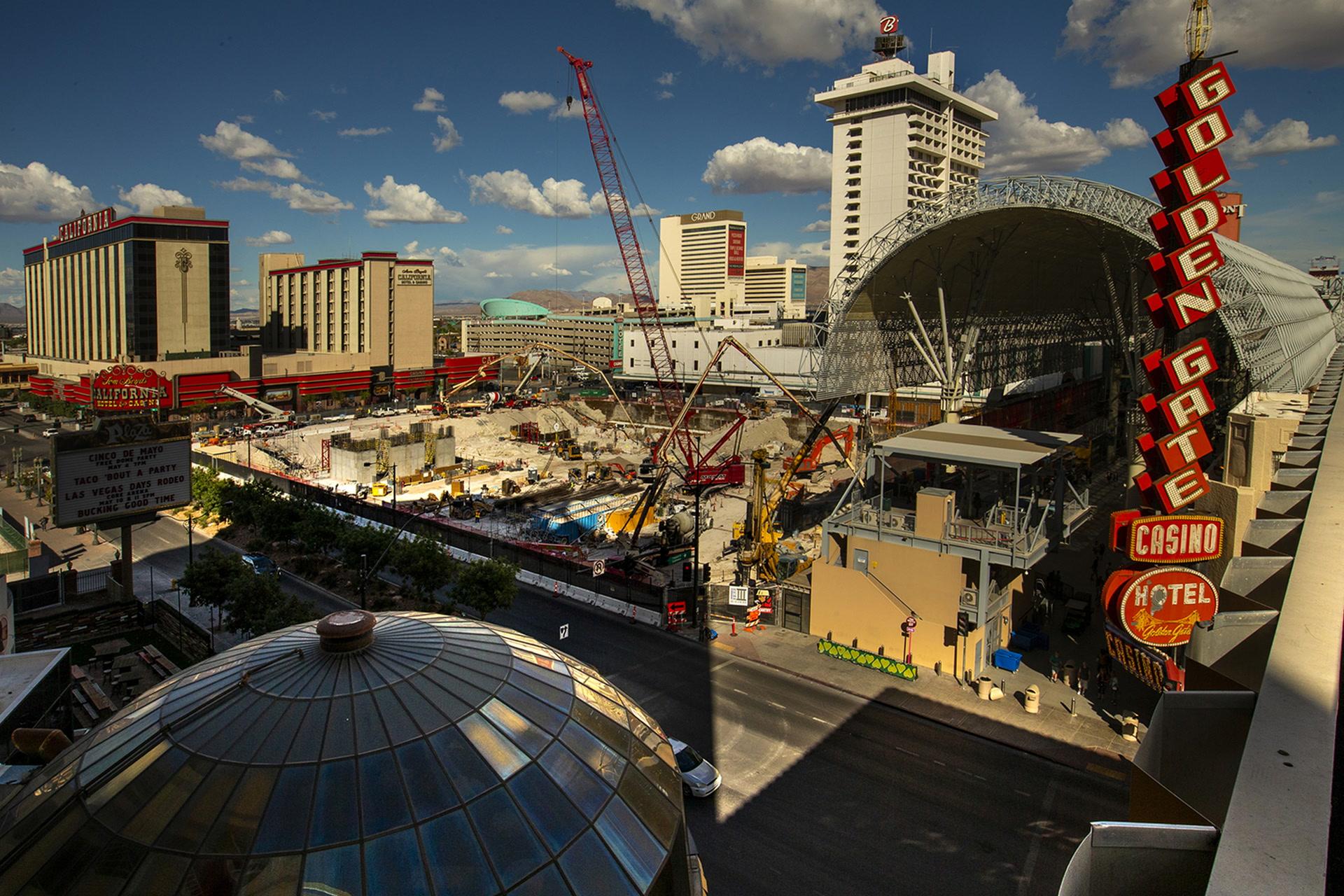 Las Vegas Show Calendar December 2020 Circa in downtown Las Vegas on pace for 2020 opening — VIDEO | Las