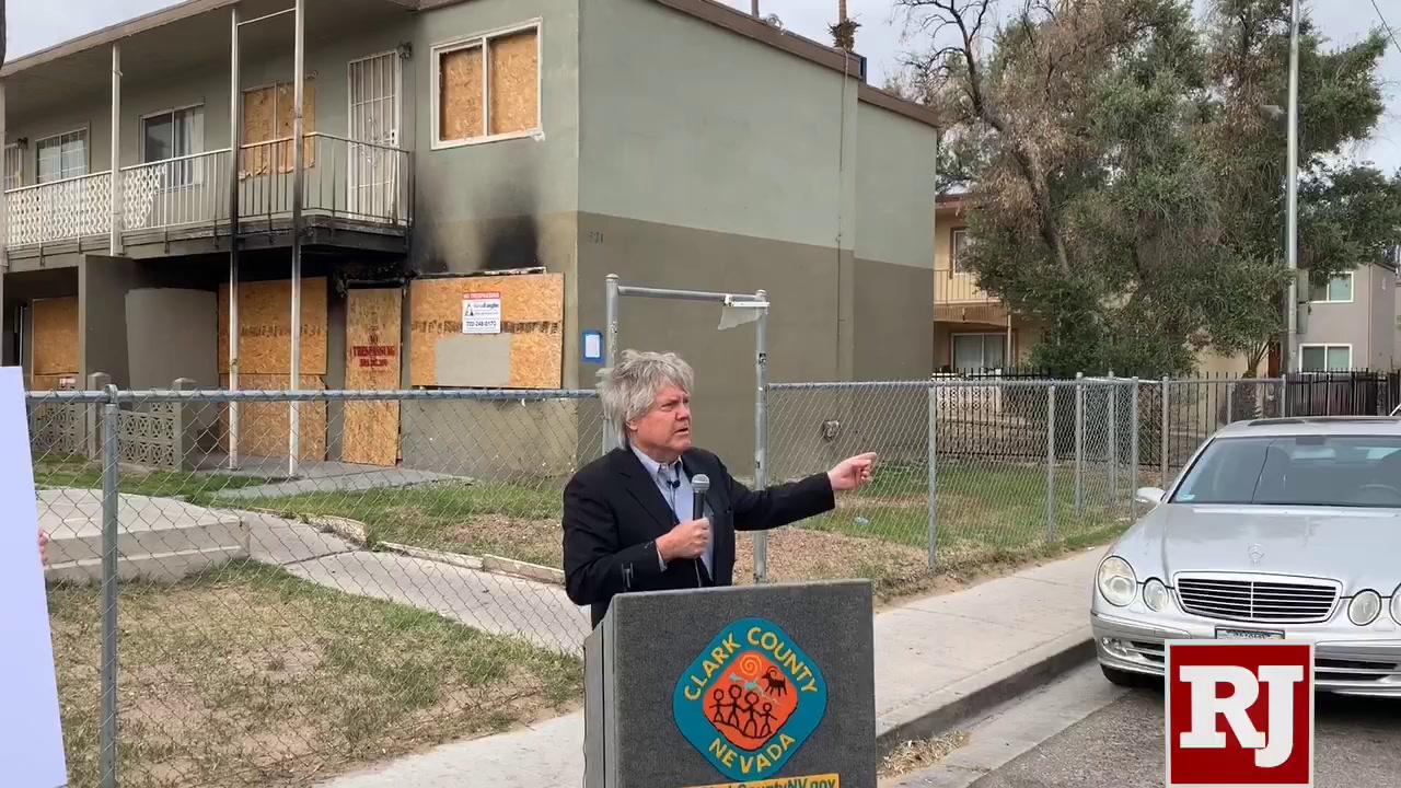 Clark County commissioner vows crackdown on derelict properties