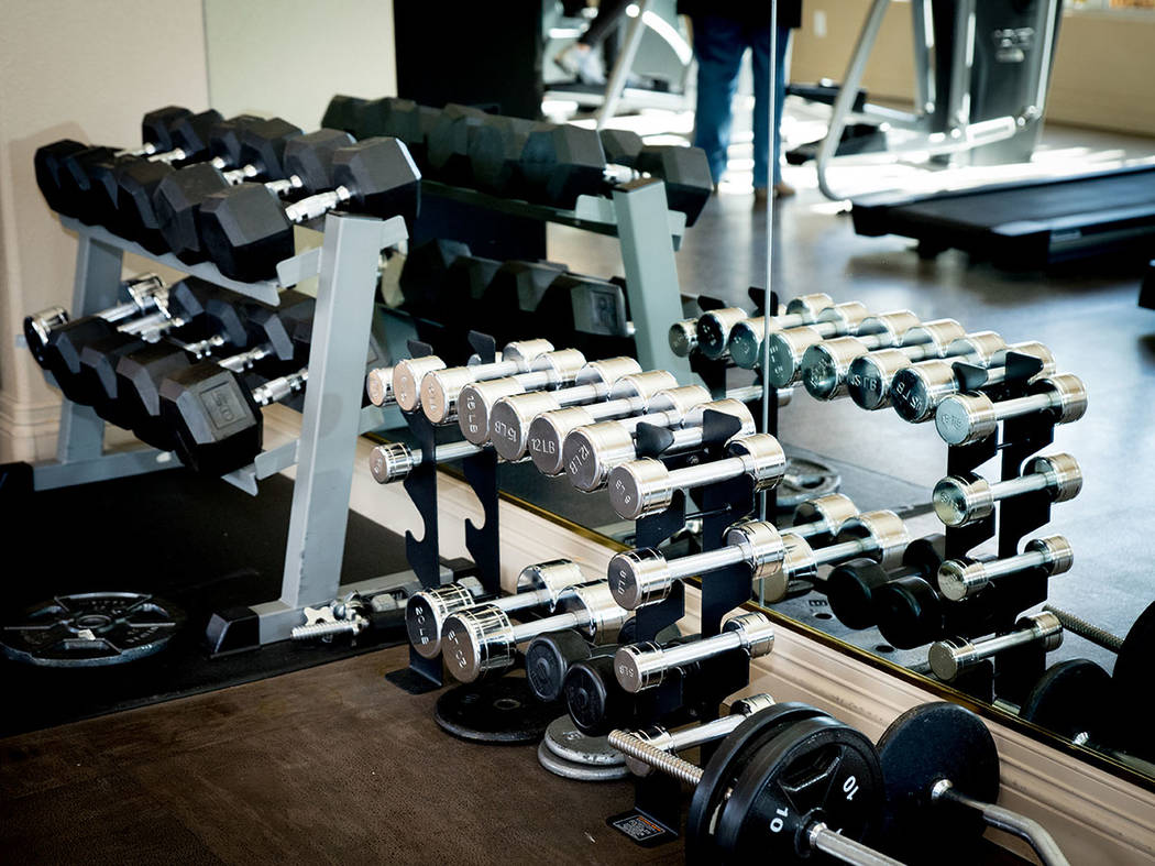 The fitness center is one of the community's amenities. (Tonya Harvey Real Estate Millions)