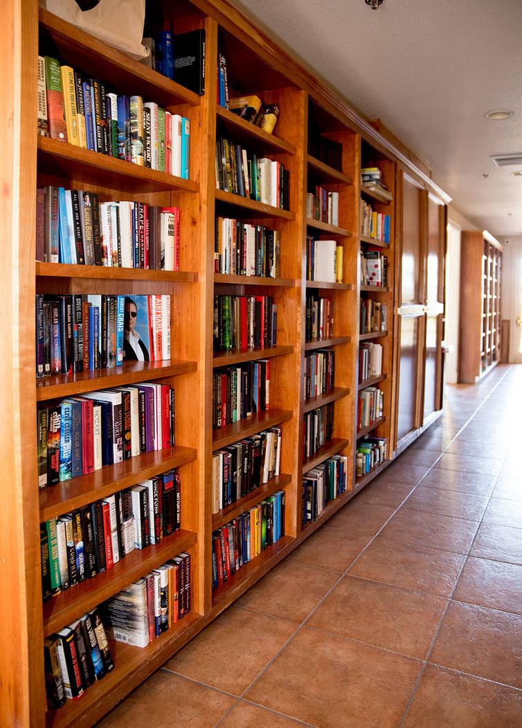 A library is in the clubhouse. (Tonya Harvey Real Estate Millions)