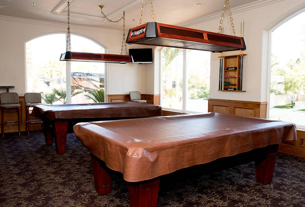 The clubhouse has pool tables. (Tonya Harvey Real Estate Millions)