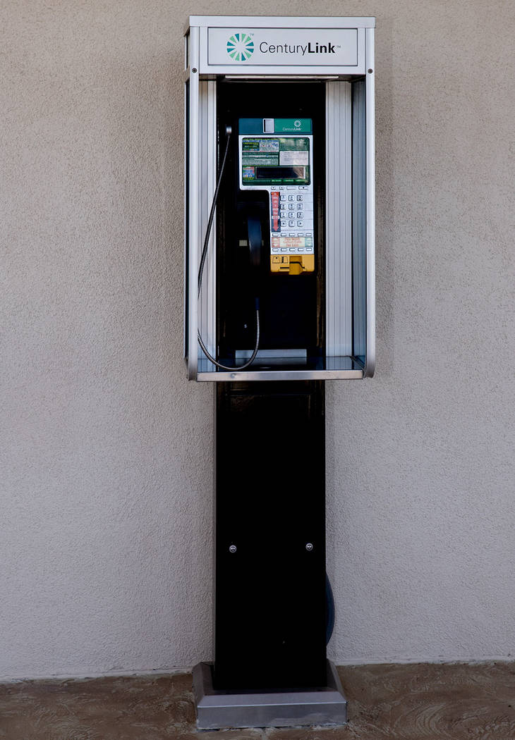 A rare site, a phone booth. (Tonya Harvey Real Estate Millions)