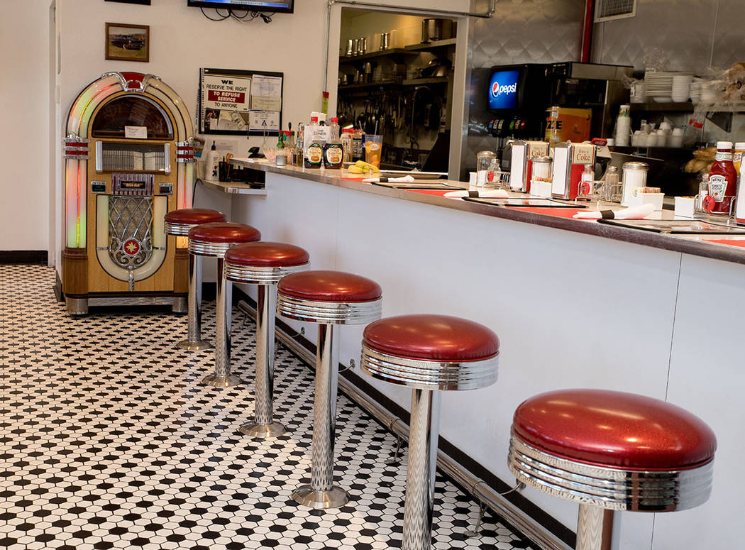 Las Vegas Motorcoach Resort has an onsite diner. (Tonya Harvey Real Estate Millions)