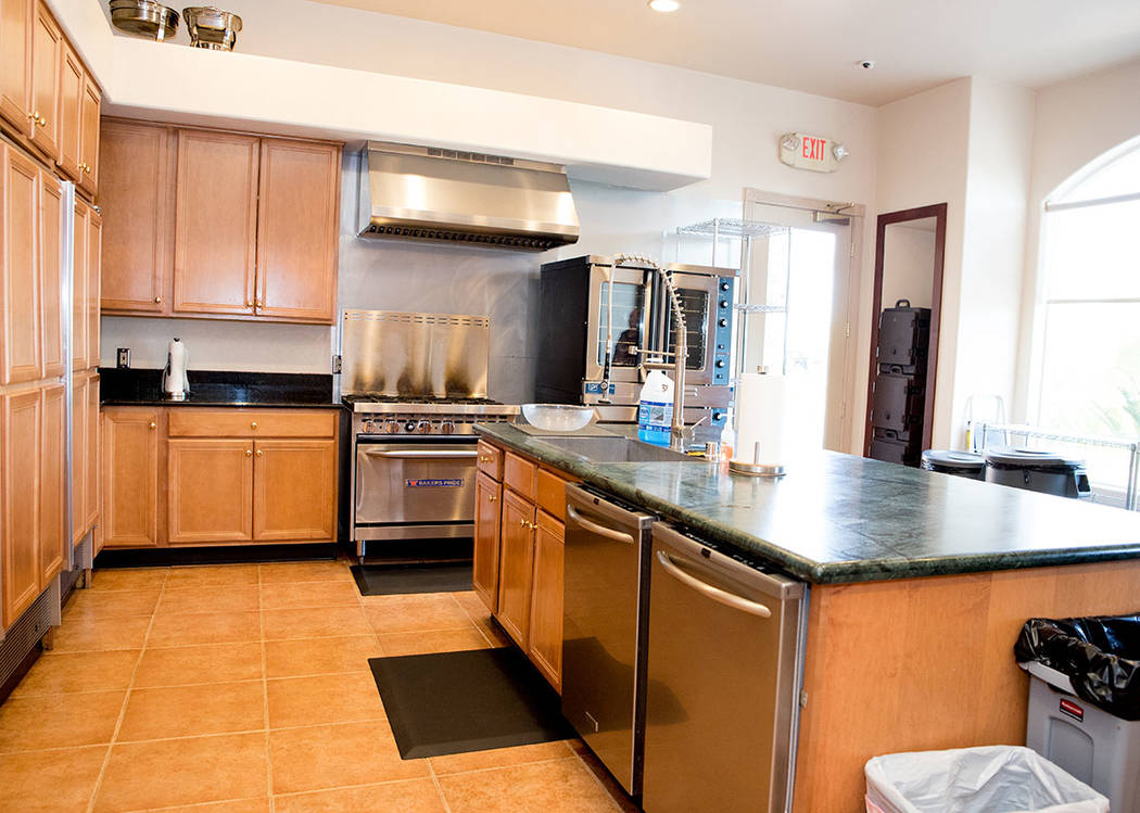 There is a community kitchen. (Tonya Harvey Real Estate Millions)