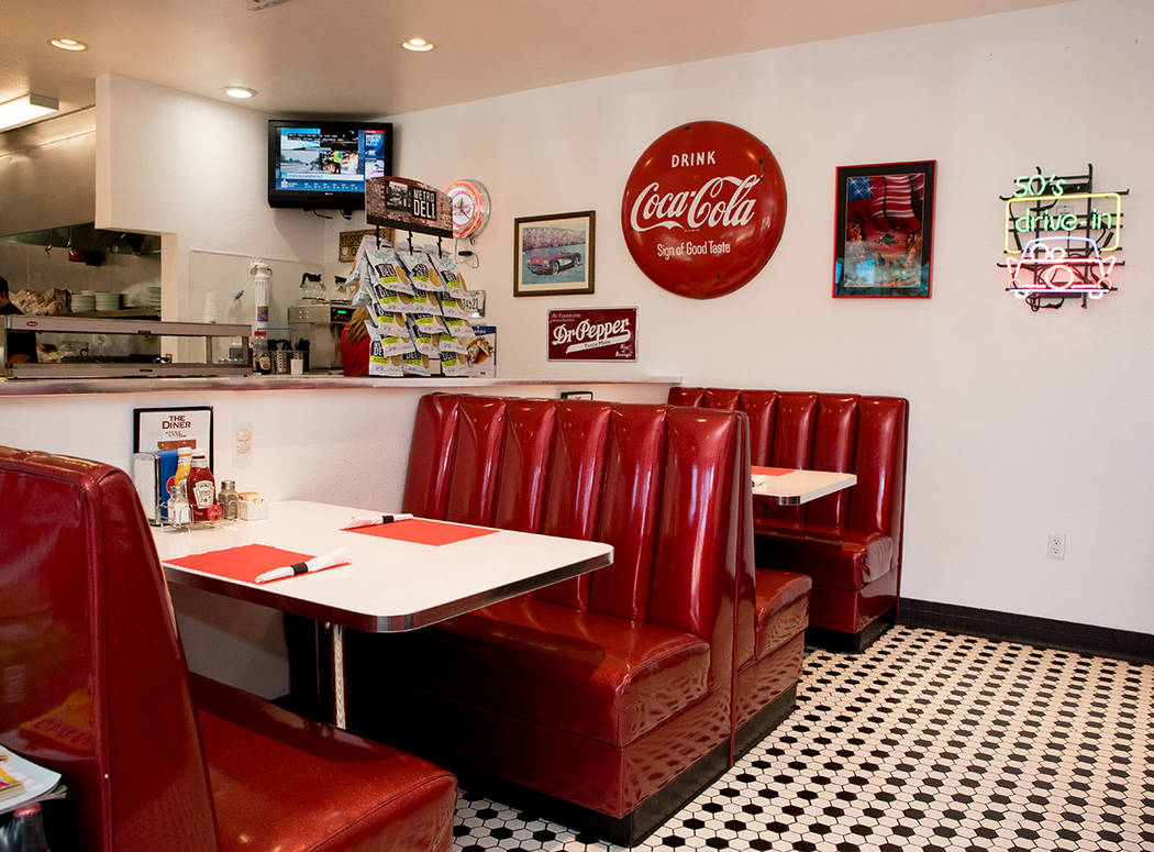 An onsite diner serves breakfast and lunch at Las Vegas Motorcoach Resort. (Tonya Harvey Real E ...