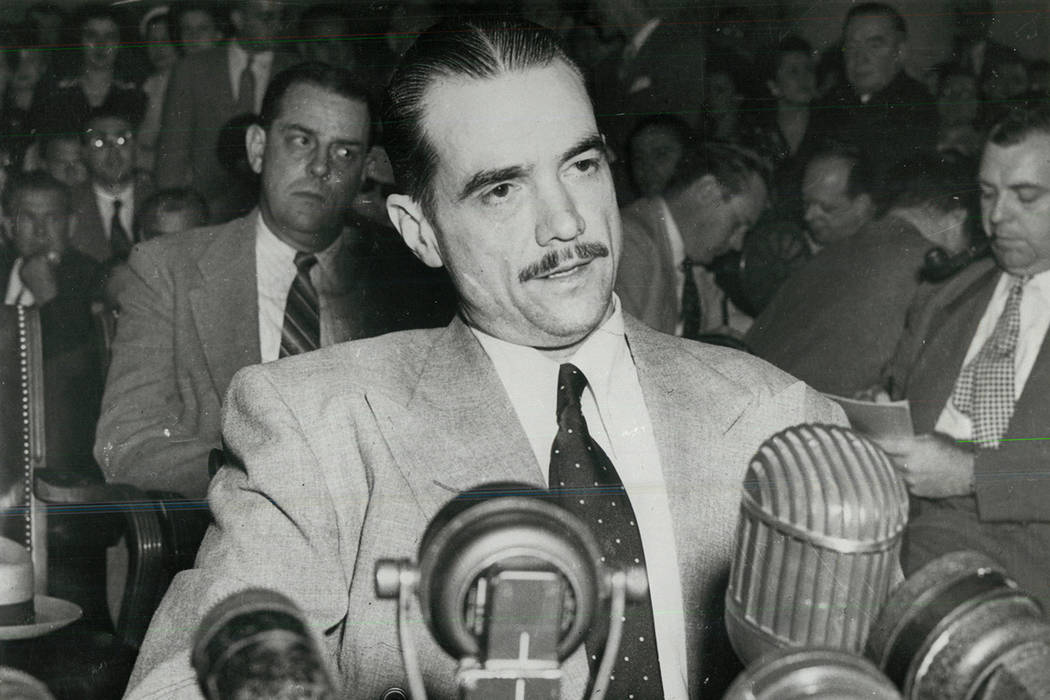 Howard Hughes is seen in an undated photo.
