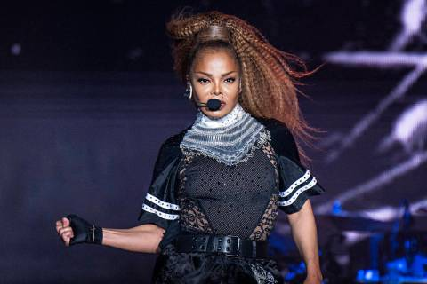 FILE - In this July 8, 2018 file photo, Janet Jackson performs at the 2018 Essence Festival in ...