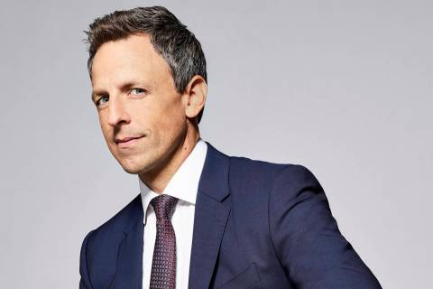 LATE NIGHT WITH SETH MEYERS -- Season: 5 -- Pictured: Seth Meyers -- (Photo by: Lloyd Bishop/NBC)
