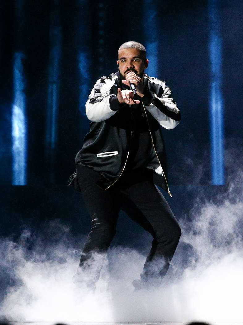 Drake performs at the 2016 iHeartRadio Music Festival - Day 1 held at T-Mobile Arena on Friday, ...