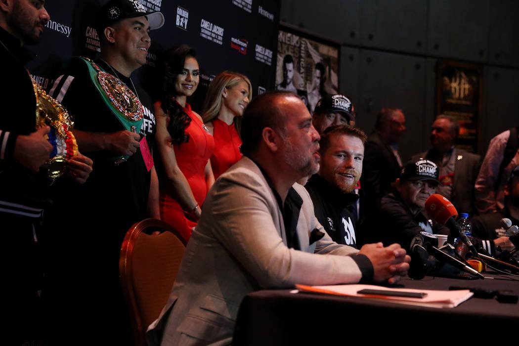 at MGM Grand hotel-casino in Las Vegas, Wednesday, May 1, 2019. (Erik Verduzco / Las Vegas Revi ...
