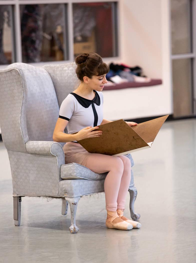 Betsy Lucas as Alice in Alice (In Wonderland) by Septime Webre. Virginia Trudeau