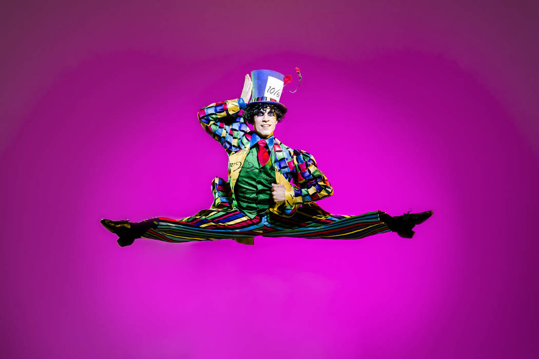 Mad Hatter in Alice (In Wonderland) by Septime Webre. Jerry Metellus