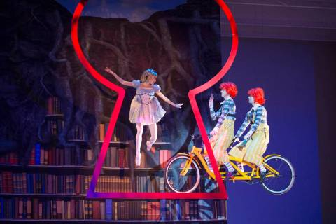 "The Washington Ballet performs ""Alice (In Wonderland). Theo Kossenas"