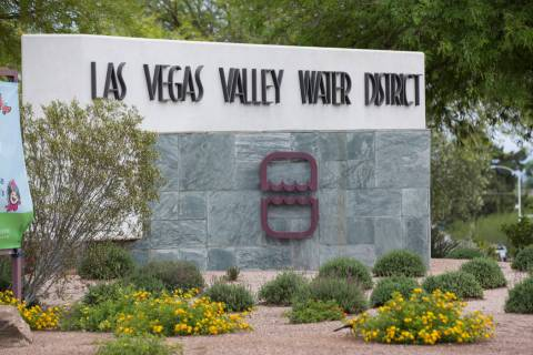 The Las Vegas Valley Water District headquarters at the intersection of South Valley View and W ...